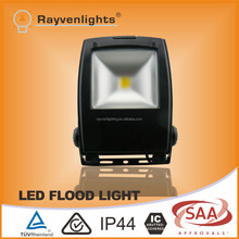 waterproof black frame mean well driver 50w led flood light with SAA CE certificate