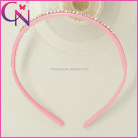 Wholesale fashion plastic hair bands with teeth for girls (CNHB-13082118)