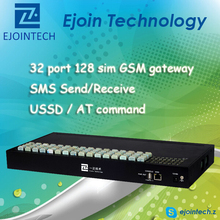 Call termination equipment ejoin goip 32 channel 128 sim GSM voip gateway, dual sim