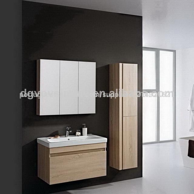 mdf vaidade do banheiro, personalizado mdf armário de banheiro, de madeira de -> Armario De Banheiro Mdf