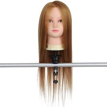 Cosmetology Mannequin Manikin Training Head with Synthentic Fiber