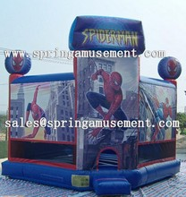 latest spiderman inflatable bounce house or inflatable bouncy castle sp-pp049
