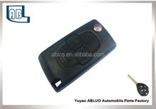 Factory Direct Sale1pc 3 Button Smart REMOTE KEY Case Cover Shell For Citroe