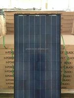 High efficiency black solar pv modules!150W poly crystalline solar panel mainly send to Australia,Mexico,Russia,Dubai etc...