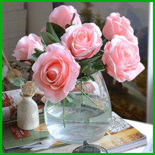 Fashionable best selling rose bush artificial flower