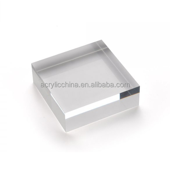 Customized Acrylic Glass Block Clear Acrylic Glass Block
