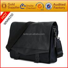Japanese brand custom-made Genuine leather shoulder bag mens laptop and brief case business bag