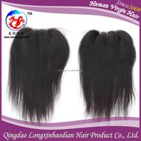 Full natural hair closure,popular human hair closure,virgin hair silk base three part closure