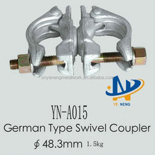 (German type) / anti-slip swivel clamp seller
