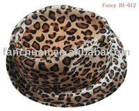 fashion Panther fur hat