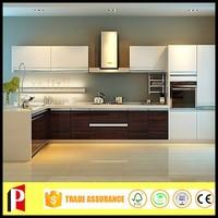 UV coating microwave kitchen cabinet design partition for kitchen