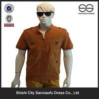 2015 Casual Fashion High Quality Slim Fit Men Formal Shirt