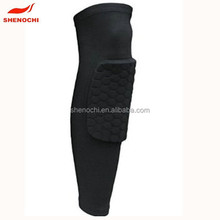 Custom breathable quick dry professional sports wear knee pad for basketball