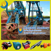 China Manufacturer Shandong Hengchuan Widely Used 10 Inch Cutter Dredger/Sand Dredging Equipment/Sand Dredging Machine for Sale