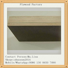 2015 New 15mm 18mm WBP glue poplar core Film faced plywood ,marine plywood for concrete formwork