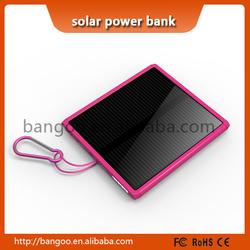 2015 slim solar charger waterproof 15000mah from sinobangoo