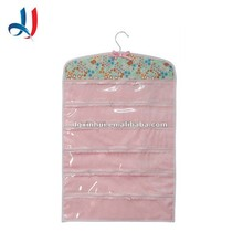 Pvc Jewellery Bag, Custom Decorative Wall Hanging, Portable Folding Storage bag