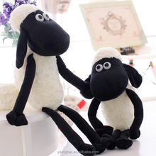 Lovely black and white sheep doll