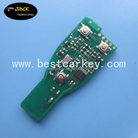 Topbest Free Shipping key for mercedes benz smart key with NEC transponder