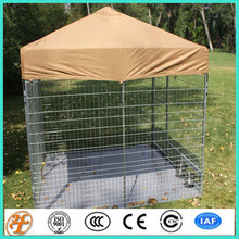 8' x 8' Complete Professional Dog Kennel with Canvas Cover