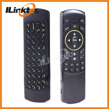 Best practical 6-Axis Gyro Smart Remote controller 2.4g mini keyboard i29 air mouse with IR Learning project