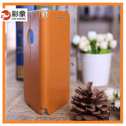 Waterproof leather case for samsung galaxy corn 8262d, cover case for samsung galaxy note edge