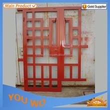 Zhejiang wrought iron door, Yongkang iron door pictures for homes,High quality modern wrought iron door