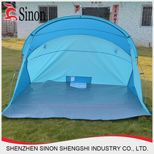 2015 hot sale blue pop up folding fishing camping tent