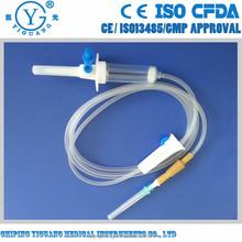 soft tube infusion set anti kinking