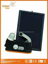 Topray solar 6W portable solar power