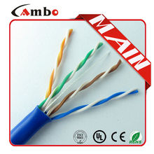 4 Pair Unshielded Twisted Pair Cable For 24AWG CAT5E FTP CABLE Pull box CABLE FTP CAT6, 1000ft CAT5e Twisted Pair Cable Price