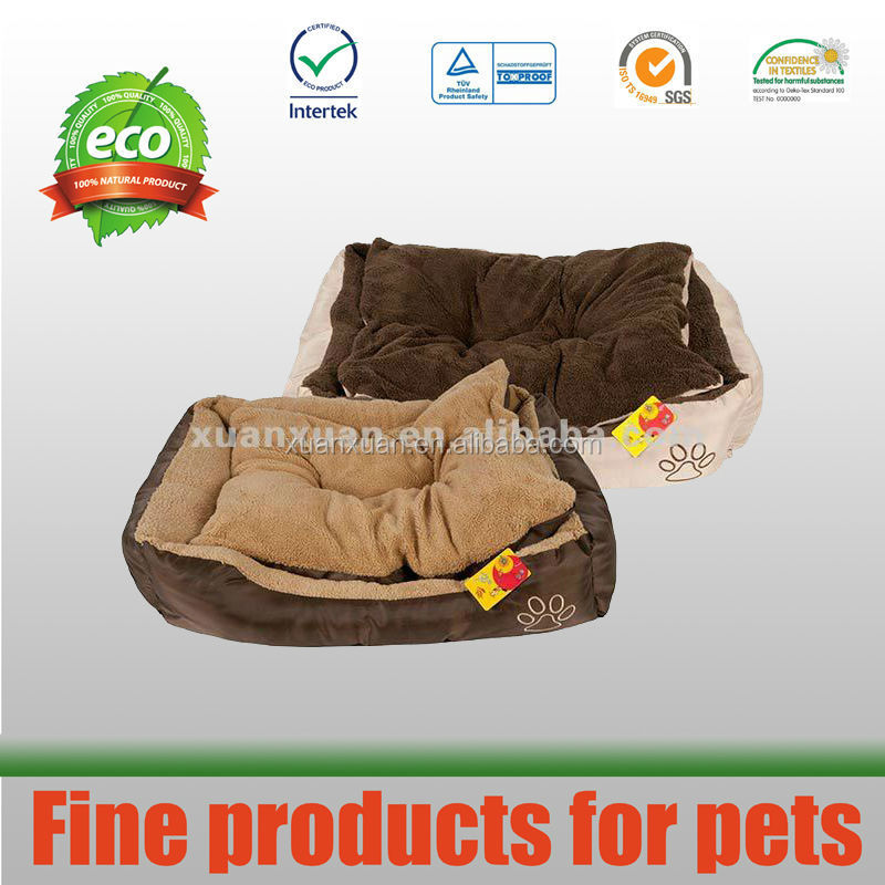 skid-proof high quality dog bed ,soft filling,pp Cotton