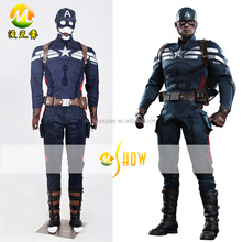 Hot Captain America Costume Steve Rogers Outfits Adult Halloween Party Cosplay Costume Superhero Costume Wholesale