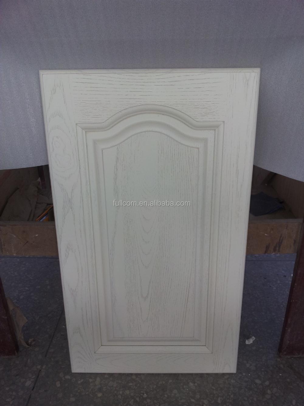 Fr ne blanc armoires de cuisine porte en bois armoire de - Penture de porte d armoire ...
