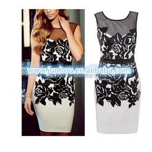 alibaba China 2014 manufacturer Wholesale Cocktail dress Applique Lady formal prom Evening dresses