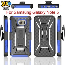 2015 Fashion Design T Shape Kickstand TPU Combo Case for Samsung Galaxy Note 5, Belt Clip Holster for Samsung Galaxy Note 5