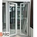 Tamanho padrão de alumínio janelas de alumínio e portas porta da frente