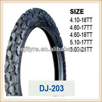 europe popular motorcycle tires 4.10-18TT