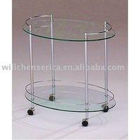 New Design Metal Tea Trolley