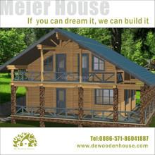 luxury prefab house building prefabricated wooden house villaDYV003