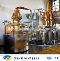 4 or 6 copper plate stainless steel reflux collumn still Milk Can Boiler/Milk Can Distiller Whiskey & moonshine distillery