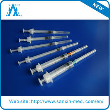Disposable Syringe Plant Supply With Auto-Disable Syringes