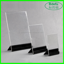AD Paper Display Stand Acrylic Display Rack for Countertop