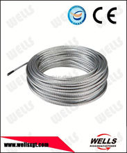 Wells factory supply 7x7 Galvanized stranded steel wire