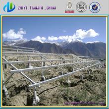 2015 Hot-Galvanized solar panel mounting structure solar mounting system solar pv mounting system for ground installation