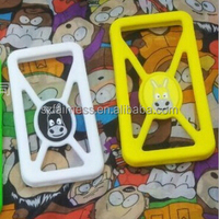 2015 newest 12 designs universal silicone rubber phone ring case
