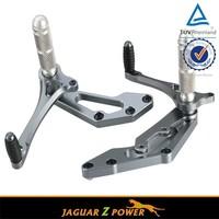 Aluminum Motorcycle Accessories Rearsets Forward Control for Suzuki Satria FU 150