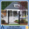 2015 hot sale wrought iron fence designs/palisade wrought iron garden fence/wrought iron palisade fencing alibaba china supplie