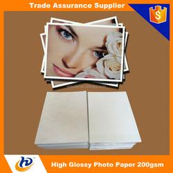 premium glossy photo paper inkjet photo paper 200gsm