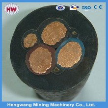 China best quanlity coal mining rubber sheathed welding cable